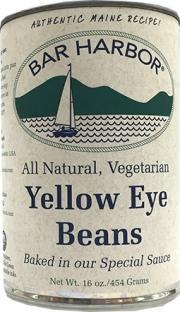 Bar Harbor Yellow Eye Beans