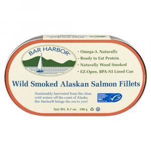 Bar Harbor Wild Smoked Alaskan Salmon Fillets