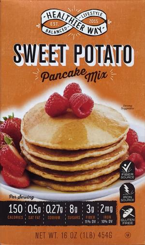 Healthier Way Sweet Potato Pancake Mix