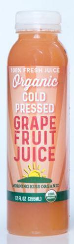 Morning Kiss Organics Grapefruit Juice