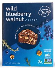 Maine Crisp Wild Blueberry Walnut Crisps