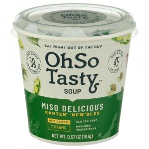 Oh So Tasty Miso Delicious Instant Soup