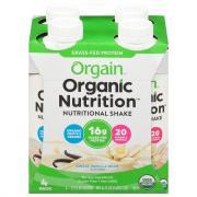 Orgain Sweet Vanilla Bean Shakes