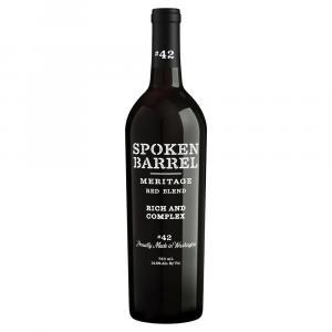 Spoken Barrel Meritage Red Blend Wine