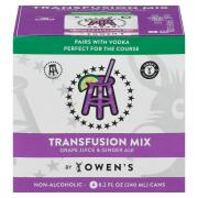 Owen's Transfusion Mix grape Juice & Ginger Ale