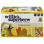 Willie's Superbrew Sparkling Ginger & Lemon