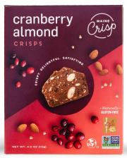 Maine Crisp Cranberry Almond Crisps