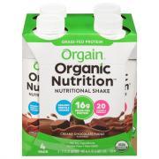 Orgain Creamy Chocolate Fudge Shakes
