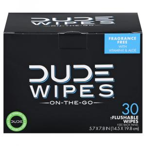 Dude Wipes Singles