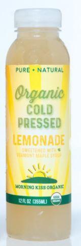 Morning Kiss Organics Lemonade