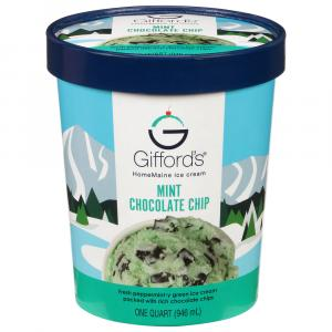Gifford's Mint Chocolate Chip Ice Cream