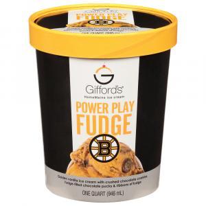 Gifford's Power Play Fudge Ice Cream
