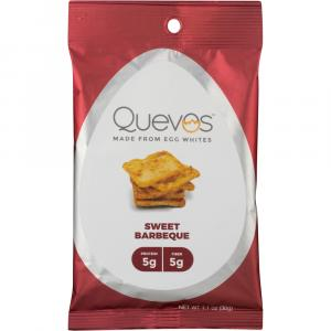 Quevos Made From Egg Whites Chips Sweet Barbeque