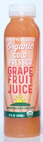 Morning Kiss Organics Grape Fruit Juice