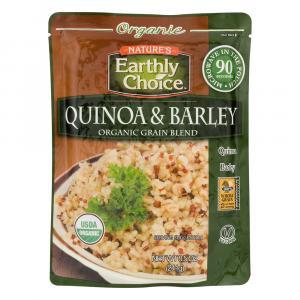 Nature's Earthly Choice Organic Quinoa & Barley