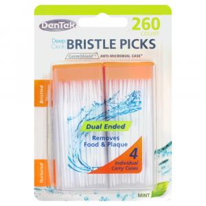 Dentek Deep Clean Bristle Picks