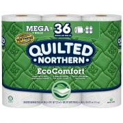 Quilted Northern EcoComfort Mega Unscented Bathroom Tissue