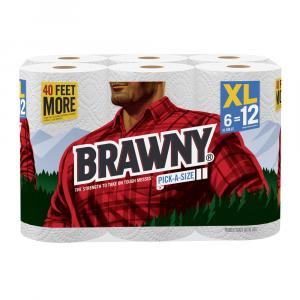 Brawny Extra Large Roll Pick-a-size Paper Towels