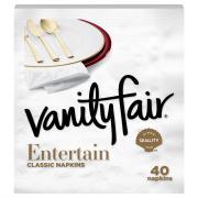 Vanity Fair Impressions 3-Ply Napkins