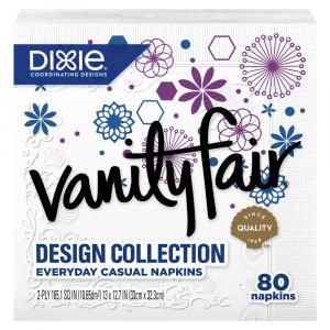 Vanity Fair Print 2-Ply Napkins