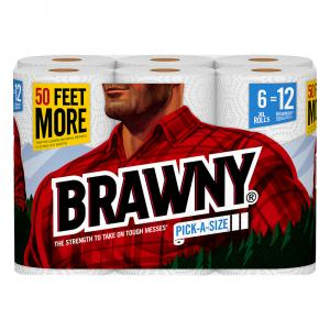 Brawny Pick-a-size Xl White Paper Towels