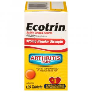 Ecotrin Regular Strength Aspirin Tablets 325 Mg