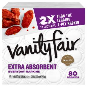 Vanity Fair Everyday Extra Absorbent Napkins