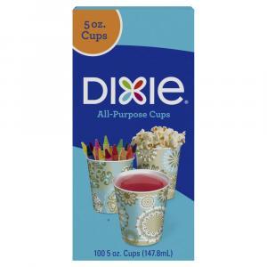 Dixie 5 Oz. Decor Bath Cups