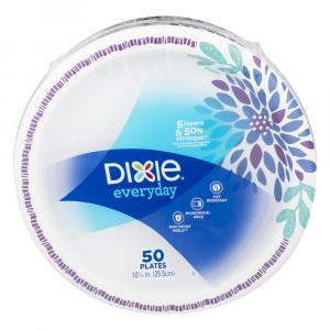 """Dixie Family Pack 10 1/16"""" Plates"""