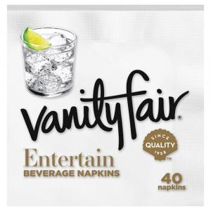 Vanity Fair Beverage Napkins