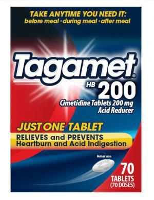 Tagamet HB 200 Mg Tablets