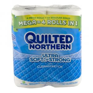 Quilted Northern Ultra Soft & Strong Mega Roll