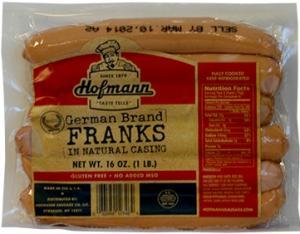 Hofmann Natural Casing German Franks