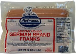 Hofmann Jumbo German Franks