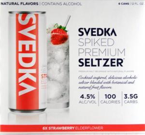 Svedka Seltzer Strawberry