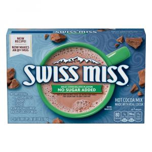 Swiss Miss Hot Cocoa Mix No Sugar Added