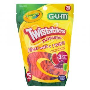 Gum Crayola Twistables Flossers
