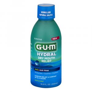 G.U.M Hydral Dry Mouth Relief Rinse