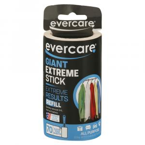 Evercare Giant Extreme Stick Lint Roller Refill