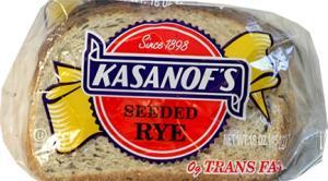 Kasanof's Seeded Rye Bread