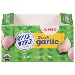 Organic Jumbo Garlic