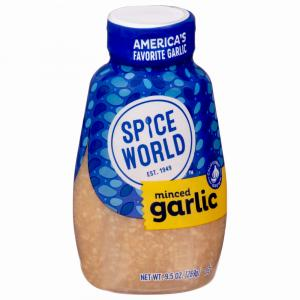Spice World Minced Squeeze Garlic