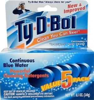 Ty-D-Bol Blue Spruce Toilet Bowl Cleaner