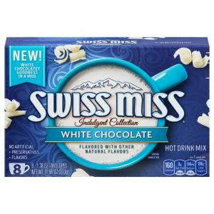 Swiss Miss Hot Cocoa White Chocolate Mix