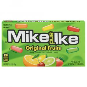 Mike & Ike Original Fruit Candy Theatre Box