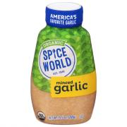 Spice World Organic Minced Squeeze Garlic