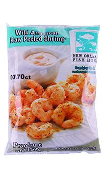 New Orleans Fish House Wild American Peeled Raw Shrimp