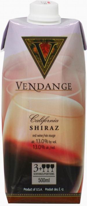 Vendange Shiraz
