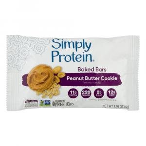 Simply Protein Baked Peanut Butter Cookie Bar
