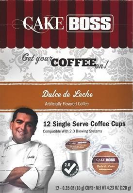 Cake Boss Dulce De Leche Single Serve Coffee Cups